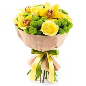 Букет «Весеннее солнышко»