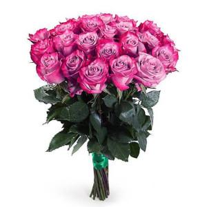 25 черничных роз