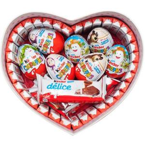 Сердце Kinder-шоколад